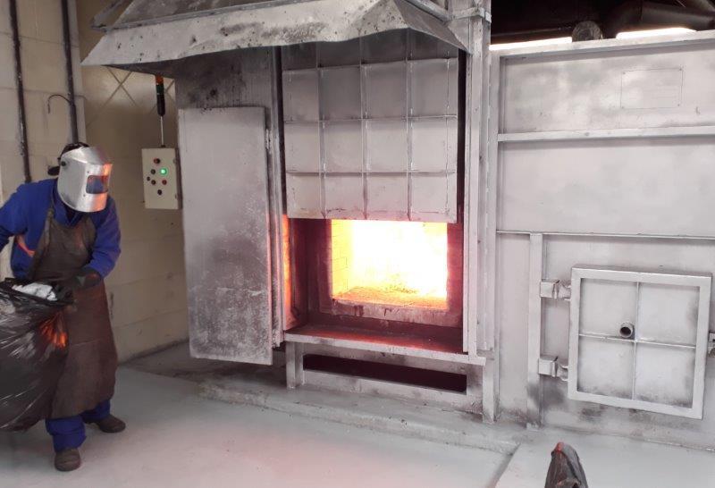 Incinerador estático