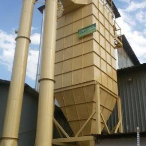 Sistema de despoeiramento filtro manga